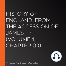 History of England, from the Accession of James II - (Volume 1, Chapter 03)