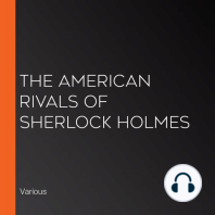 The American Rivals of Sherlock Holmes