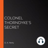 Colonel Thorndyke's Secret