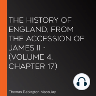 History of England, from the Accession of James II, The - (Volume 4, Chapter 17)