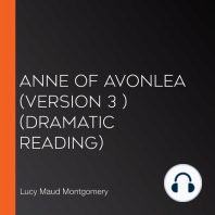 Anne of Avonlea (version 3 ) (dramatic reading)