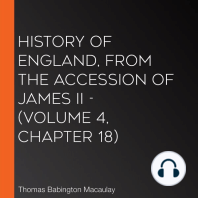 History of England, from the Accession of James II - (Volume 4, Chapter 18)