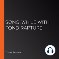 Song..While with fond rapture