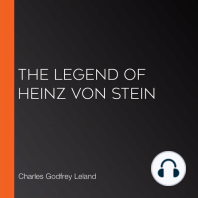 The Legend of Heinz von Stein