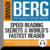 Speed Reading Secrets of the World's Fastest Reader