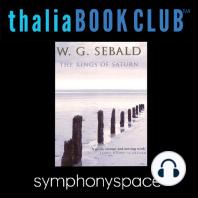 W.G. Sebald's The Rings of Saturn