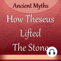 How Theseus Lifted the Stone