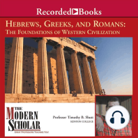 Hebrews, Greeks and Romans: Foundations of Western Civilization