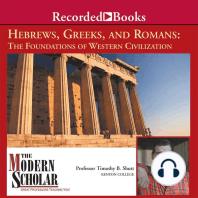 Hebrews, Greeks and Romans