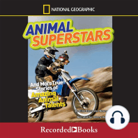 National Geographic Kids Chapters: Animal Superstars And More True Stories of Amazing Animal Talents