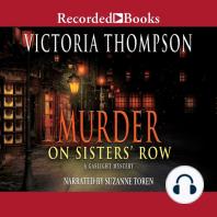 Murder on Sister's Row