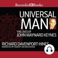 Universal Man: The Lives of John Maynard Keynes