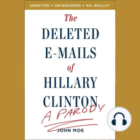 The Deleted E-Mails of Hillary Clinton