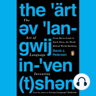 The Art of Language Invention
