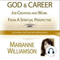 God and Career Workshop by Marianne Williamson