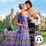 Lady Sarah's Sinful Desires