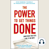 The Power to Get Things Done