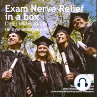Exam nerve relief in a box
