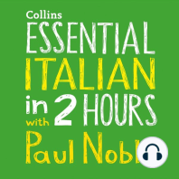 Essential Italian in Two Hours
