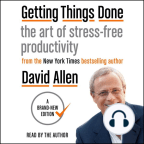Audiobook, Getting Things Done: The Art of Stress-free Productivity - Listen to audiobook for free with a free trial.
