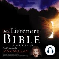 The KJV Listener's Audio Bible, New Testament