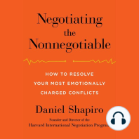 Negotiating the Nonnegotiable