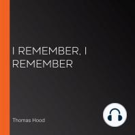 I Remember, I Remember