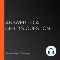 Answer to a Child's Question