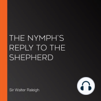 The Nymph's Reply to the Shepherd