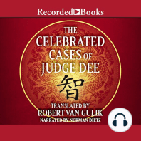 The Celebrated Cases of Judge Dee