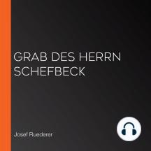 Grab des Herrn Schefbeck