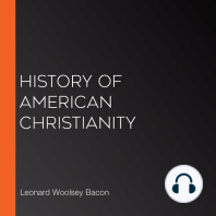 History of American Christianity