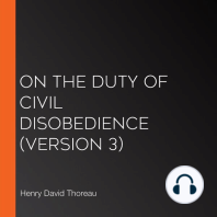 On the Duty of Civil Disobedience (Version 3)