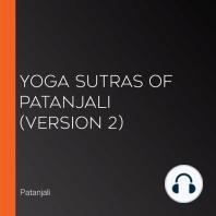 Yoga Sutras of Patanjali (version 2)