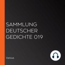 Sammlung deutscher Gedichte 019