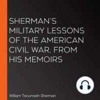 Sherman's Military Lessons Of The American Civil War, From His Memoirs