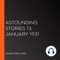 Astounding Stories 13, January 1931