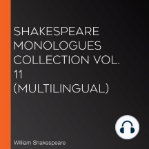 Shakespeare Monologues Collection vol. 11 (Multilingual)