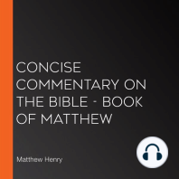 Concise Commentary on the Bible - Book of Matthew