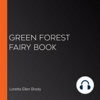 Green Forest Fairy Book
