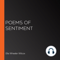 Poems of Sentiment