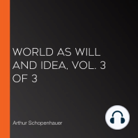 World as Will and Idea, Vol. 3 of 3