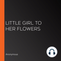 Little Girl to Her Flowers