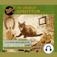 The Origin of Superstition