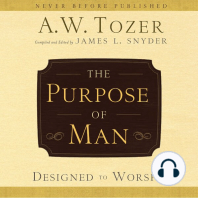 The Purpose of Man