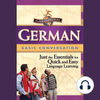 German Basic Conversation