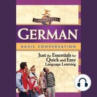German Basic Conversation