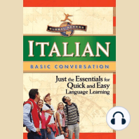 Italian Basic Conversation