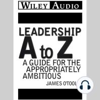 Leadership A to Z