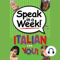 Italian for You!